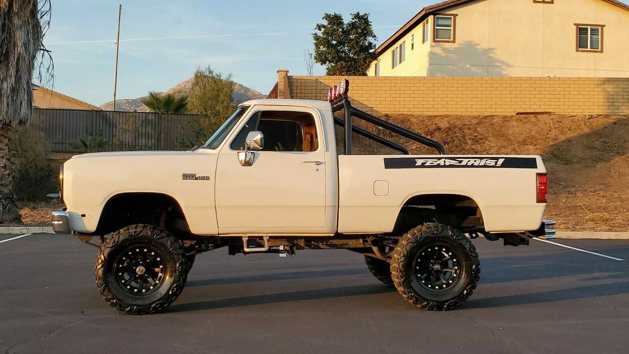 eBay Find: Sit Above The Rest In A 1992 Dodge Power Ram 150