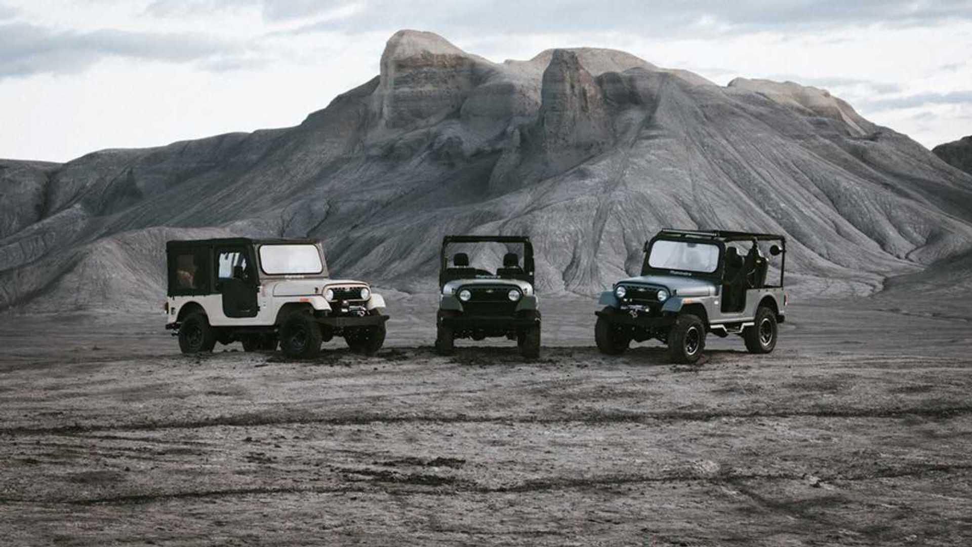 "[""2020 Mahindra Roxor Ditches Its Jeep Face""]"