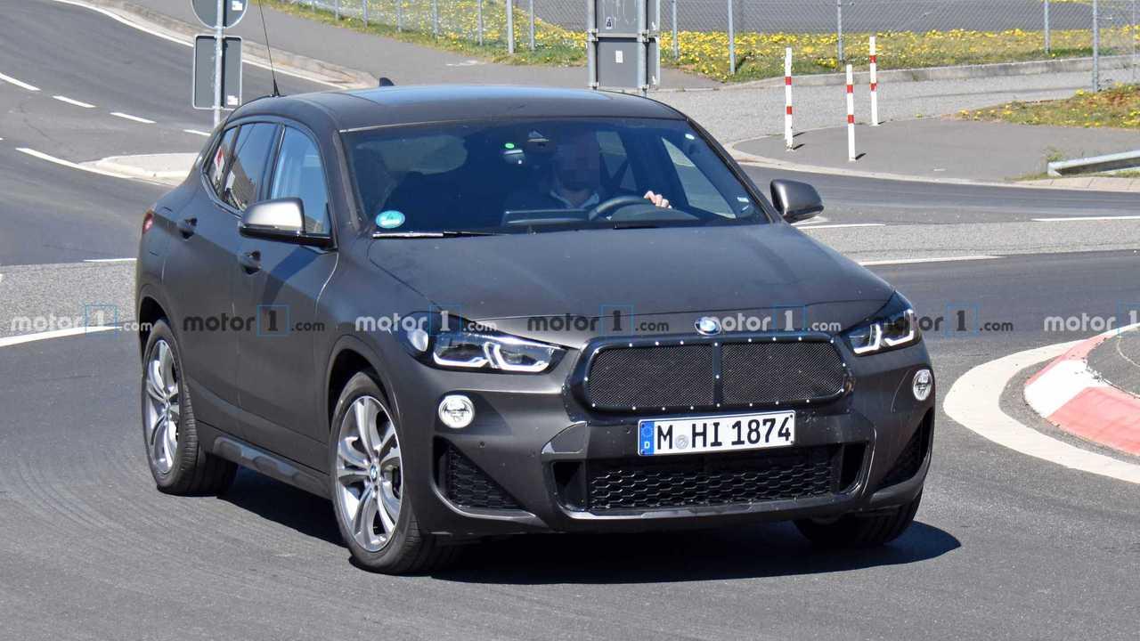 BMW X2 Facelift Spy Fotók