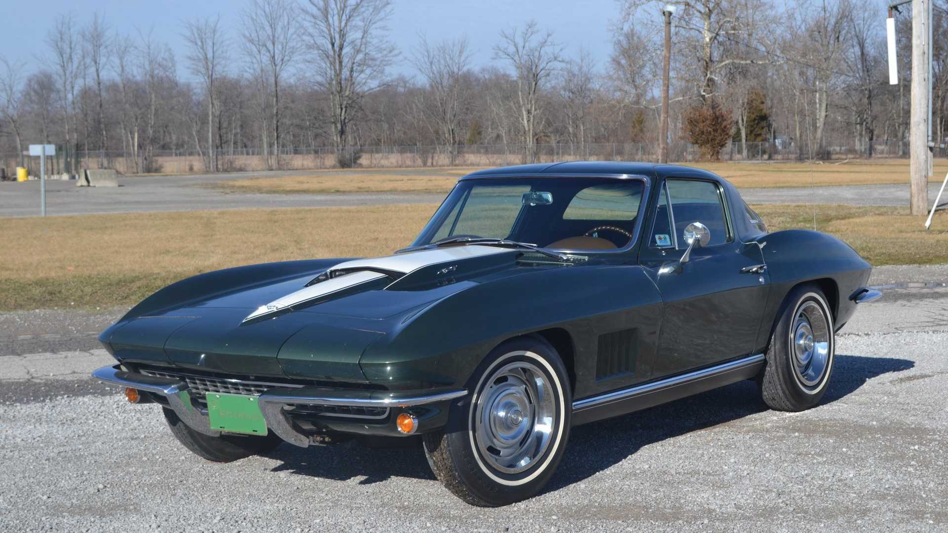 "[""Award-Winning 1967 Chevrolet Corvette Is All-Original, Unrestored""]"