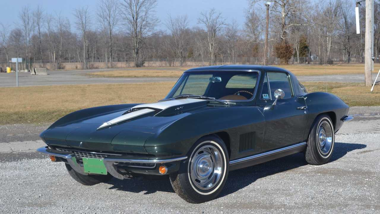 Award-Winning 1967 Chevrolet Corvette Is All-Original, Unrestored