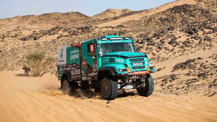 Iveco, il team Petronas De Rooy chiude sesto la Dakar 2020