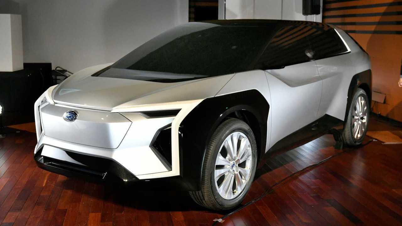 Subaru Electric Crossover Concept
