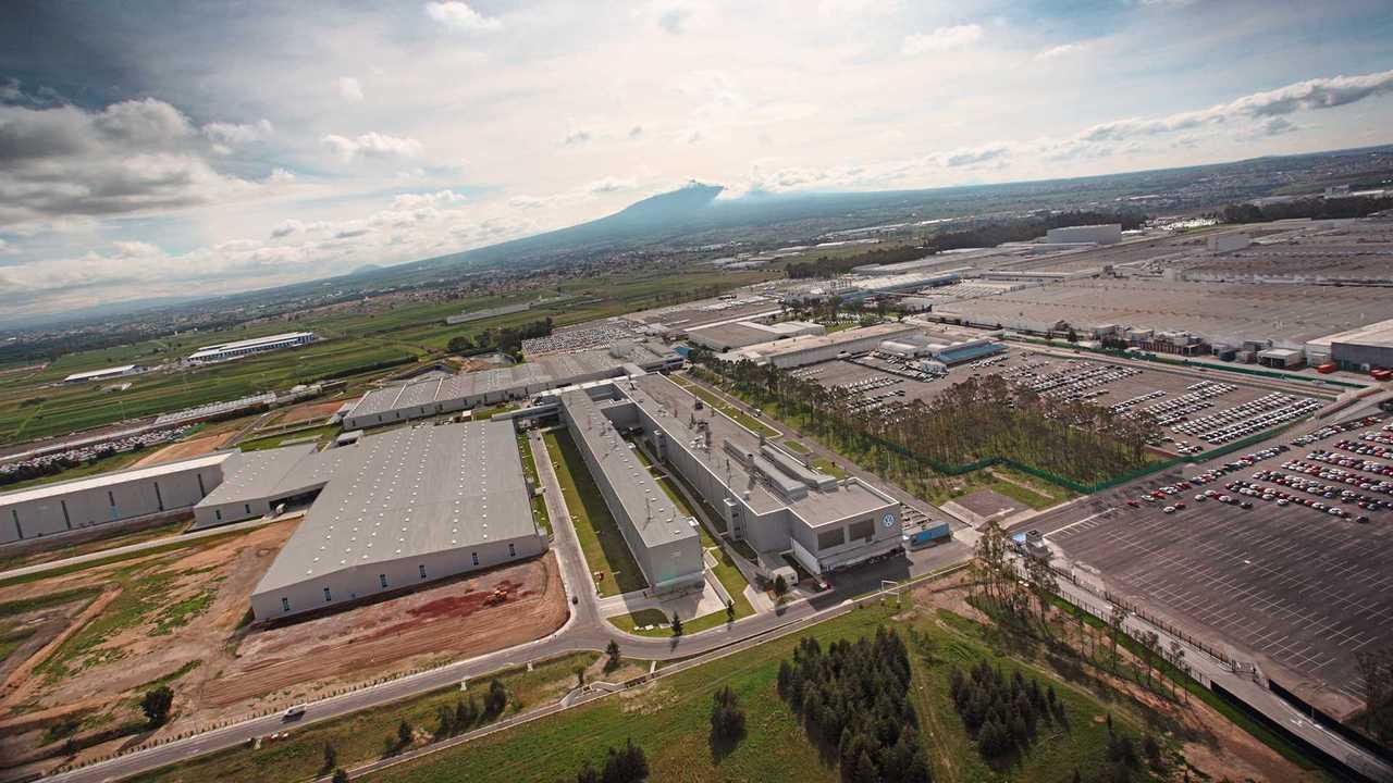 завод Volkswagen Мексика