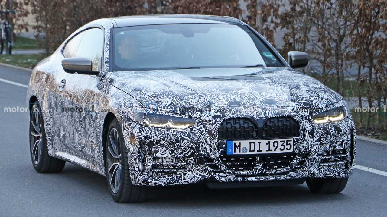 BMW 4 Series Coupe Spied Up Close In New Photos - Motor1