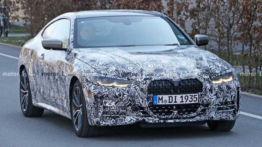 BMW 4er Coupé (2020): Erlkönig in Nahaufnahme