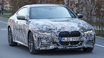 bmw 4 series coupe spied