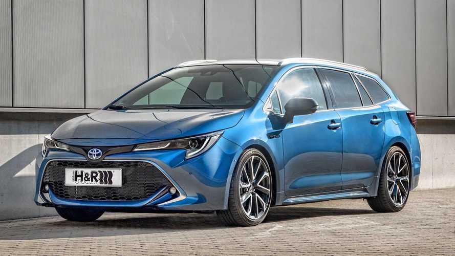 H&R-Sportfedern für den Toyota Corolla Touring Sports Hybrid