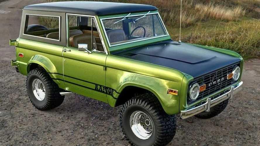1970 Ford Bronco Raptor rendering