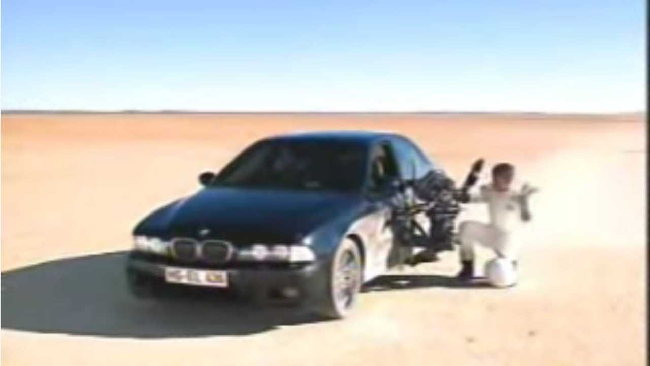 Watch This Epic BMW E39 M5 Commercial