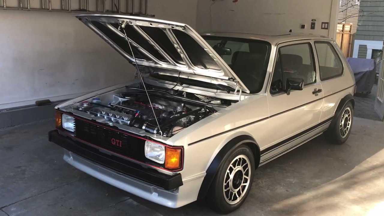 Volkswagen Golf GTI de 1983 de Derek Spratt
