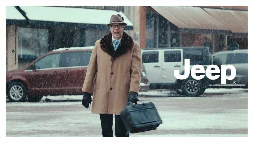 Jeep Super Bowl Commercial Stars Bill Murray Reprising Groundhog Day