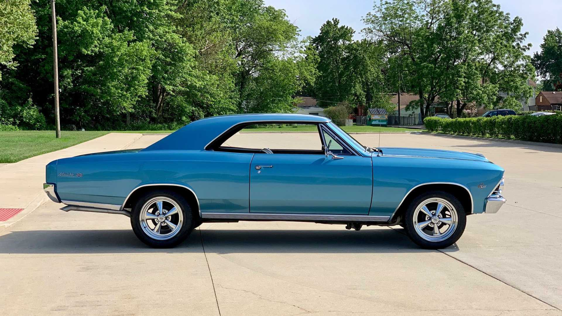 "[""Drop The Hammer In This Built 1966 Chevrolet Malibu SS Clone""]"