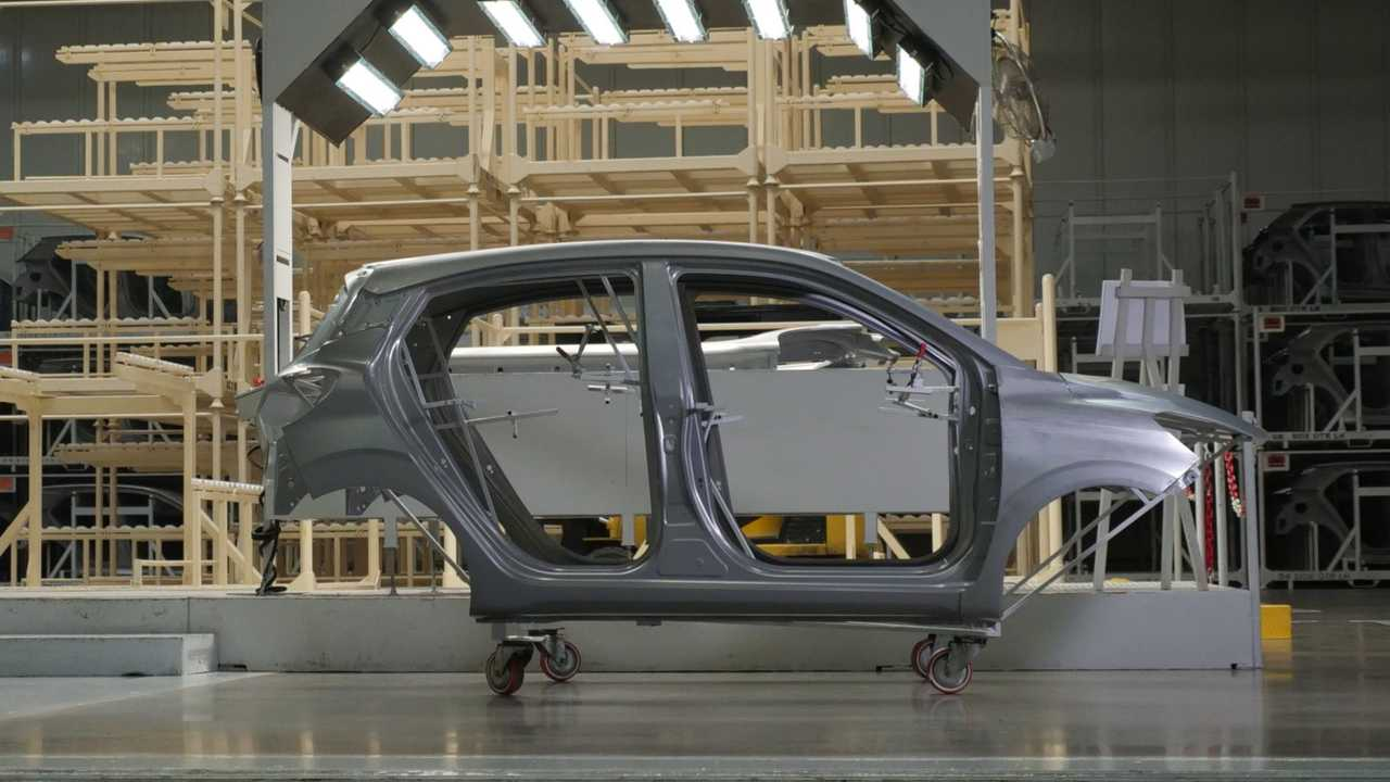 Hyundai i10 production in South Korea