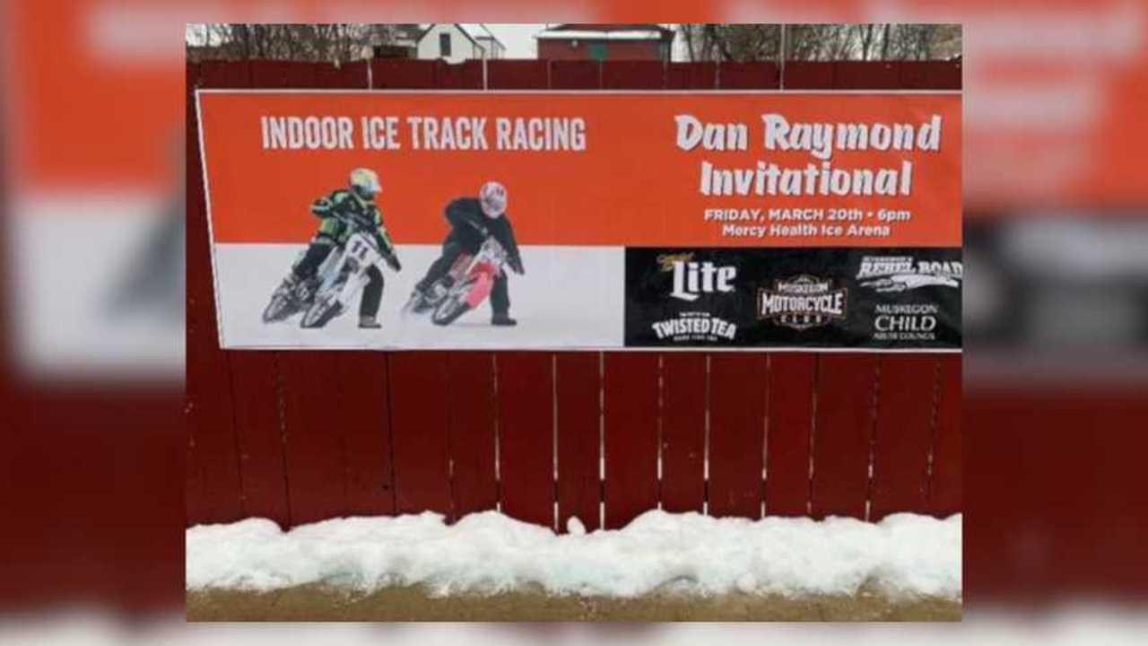 Muskegon Ice Racing