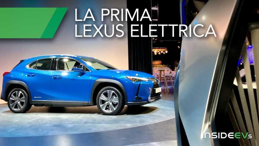 Lexus UX300e, circa 300 km di autonomia e prezzo intorno ai 50.000 €