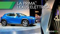 lexus ux300e suv elettrico autonomia prezzo