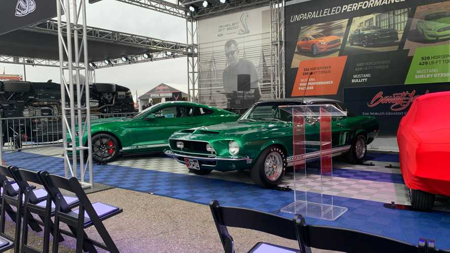 'Green Hornet', 'Little Red' Share Stage With 2020 Shelby GT500s