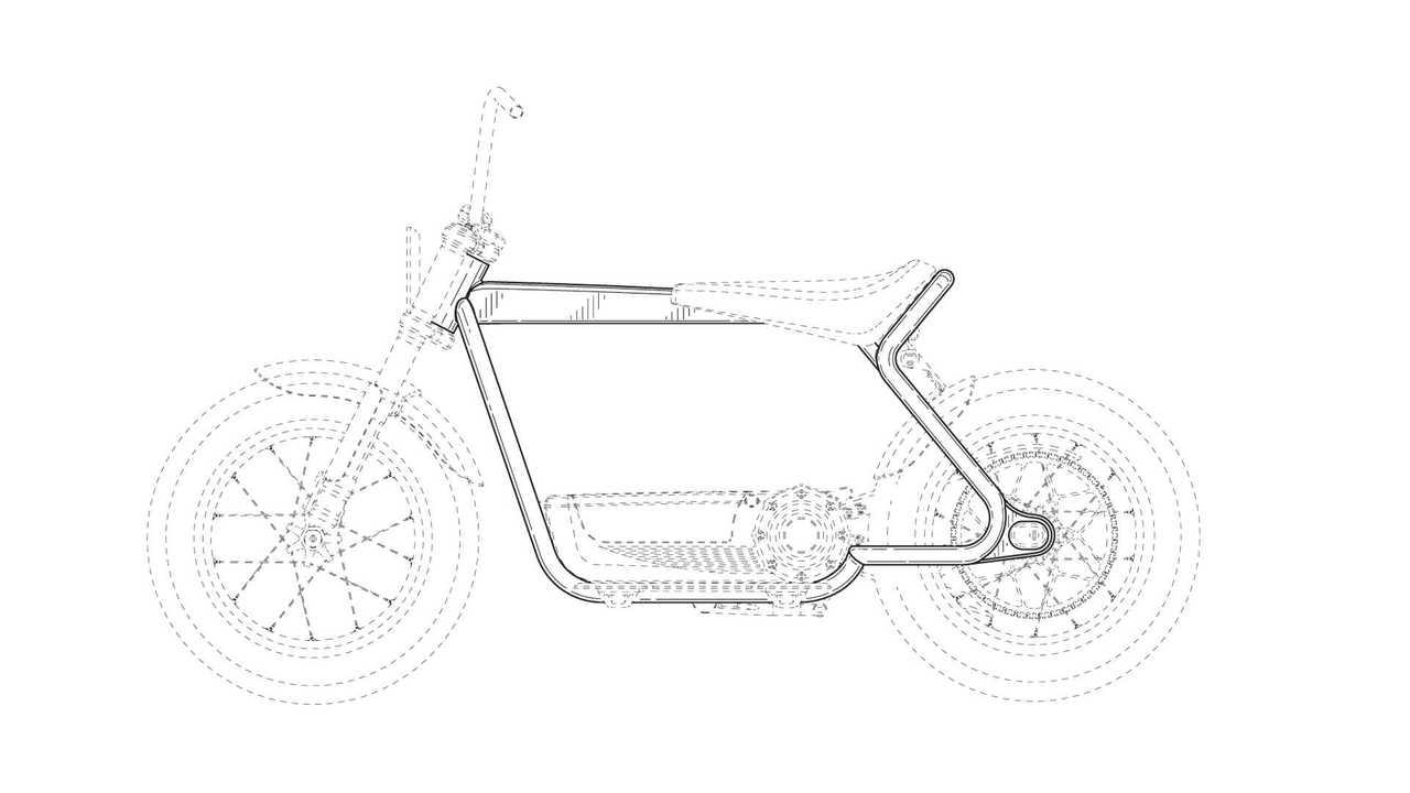 Harley-Davidson Electric Scooter Design Filings