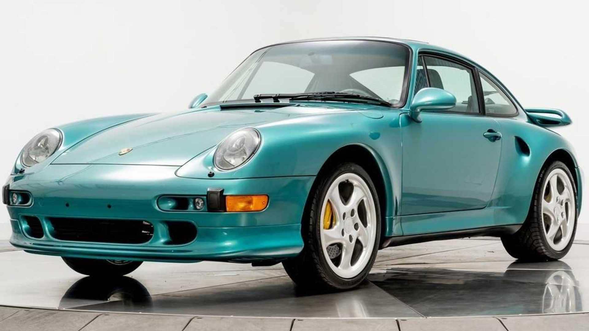 Une rare Porsche 911 (993) Turbo S affichée à plus de 800'000 euros