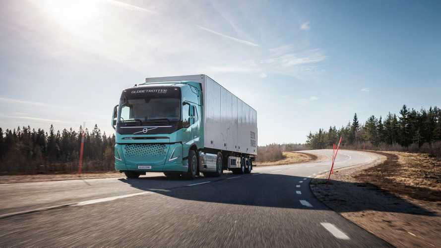 Volvo Trucks - heavy-duty electric concept trucks for construction operations and regional transport
