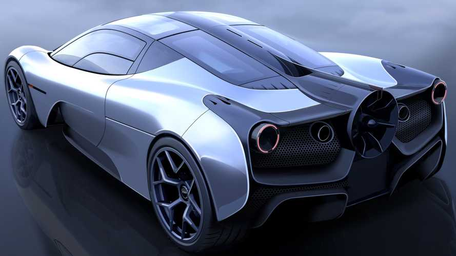 La Gordon Murray Automotive T.50 a une turbine à l'arrière
