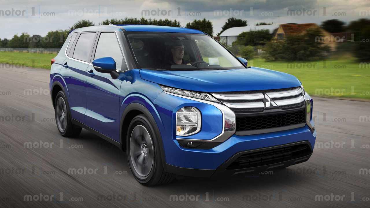 Новый Mitsubishi Outlander: наши эксклюзивные изображения