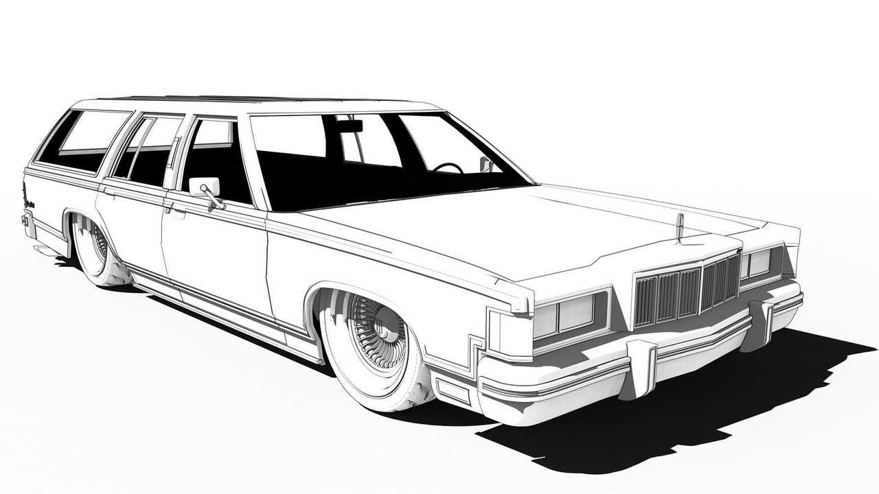 Classic Car Coloring Pages - Coloring Pages Of Cool Cars ... | 720x1280