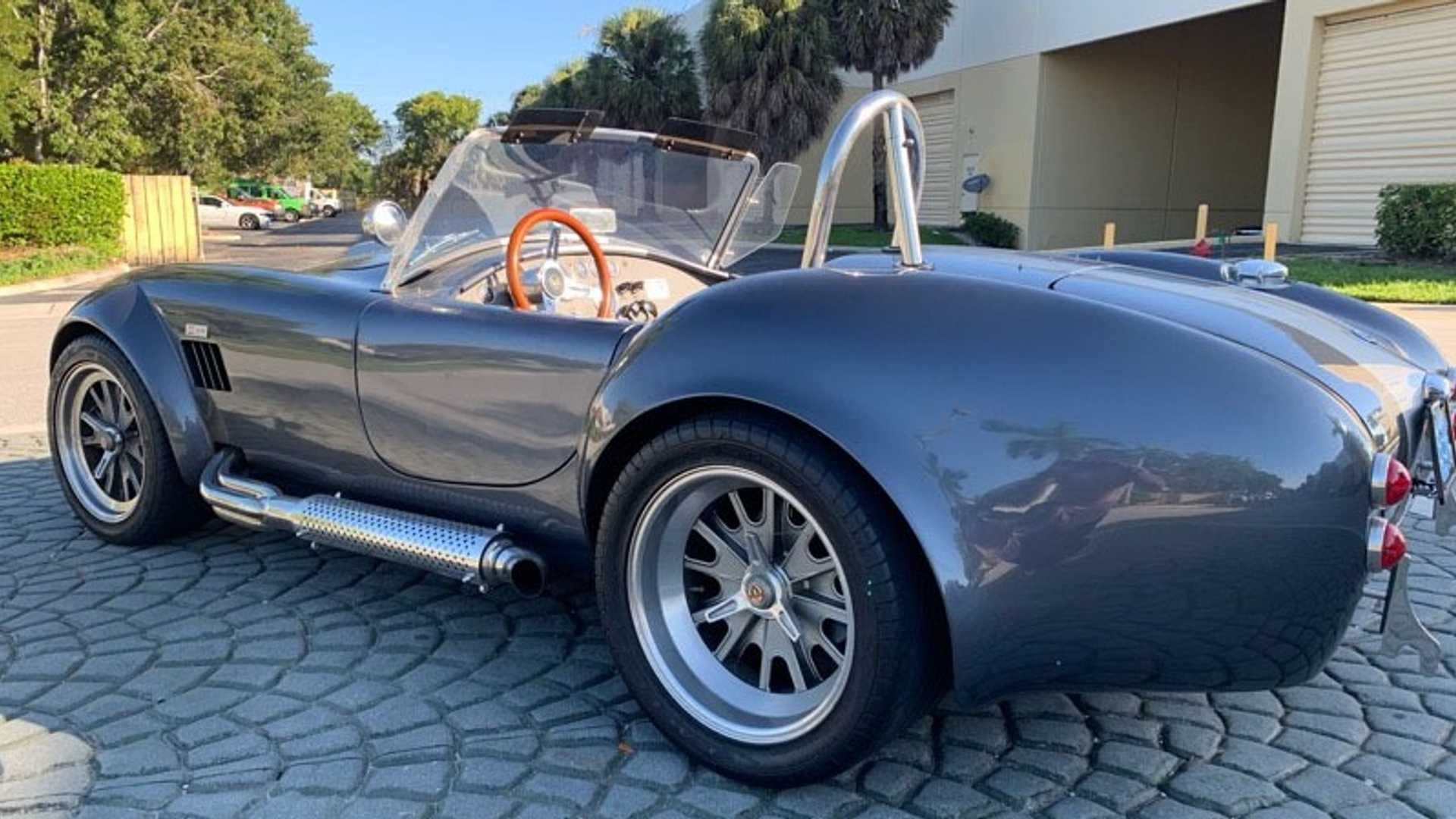 "[""Steal The Show With This Custom 1965 Backdraft Racing Cobra""]"