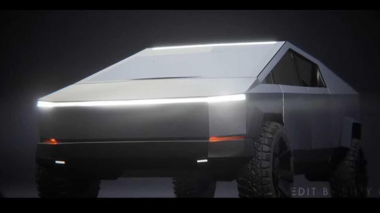tesla cybertruck trailer hirdetés