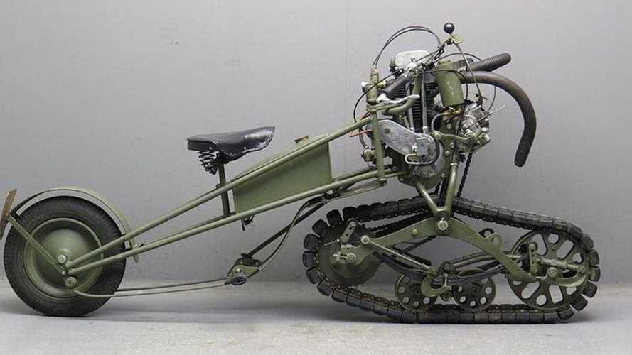 Cycleweird: 1937 Mercier Motor Chenille