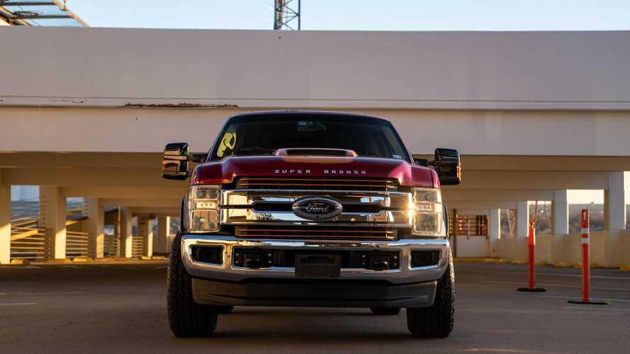 Ford Super Bronco – гигантский самодельный внедорожник