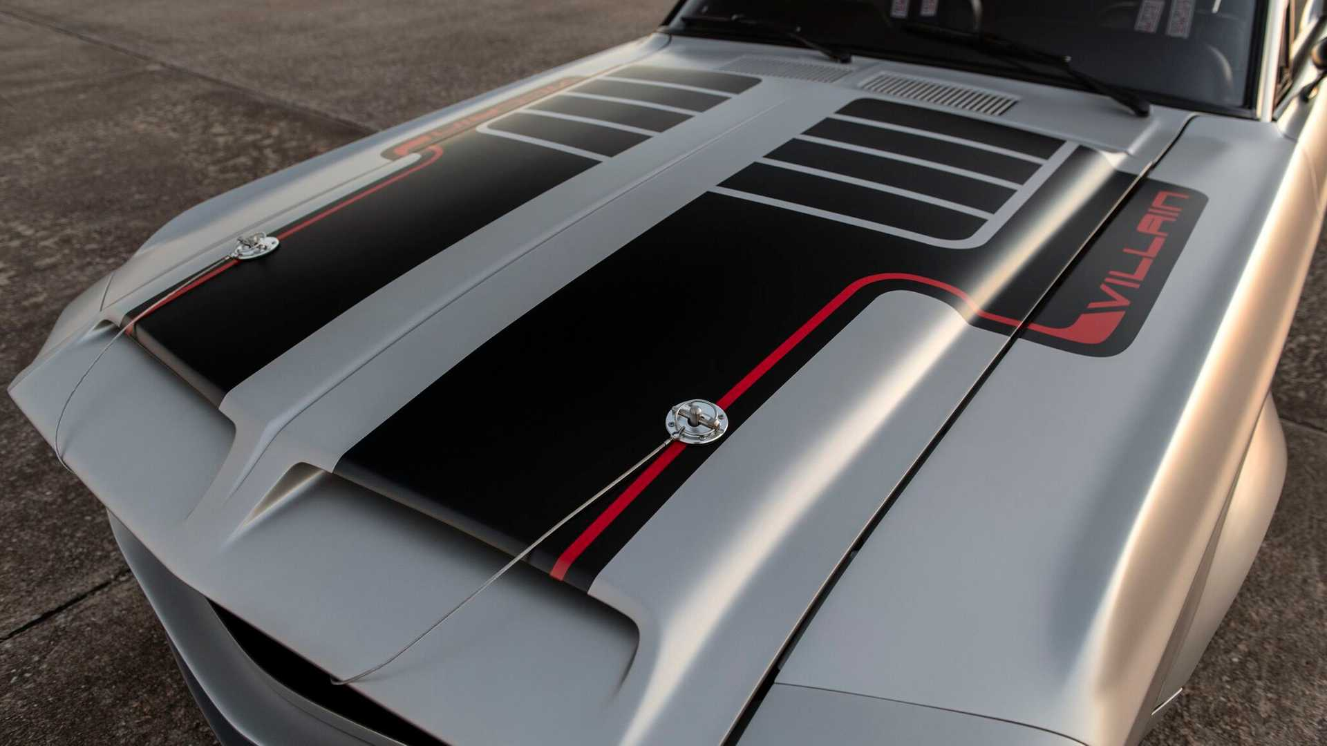 """[""""Classic Recreations 1968 Ford Mustang Villain""""]"""