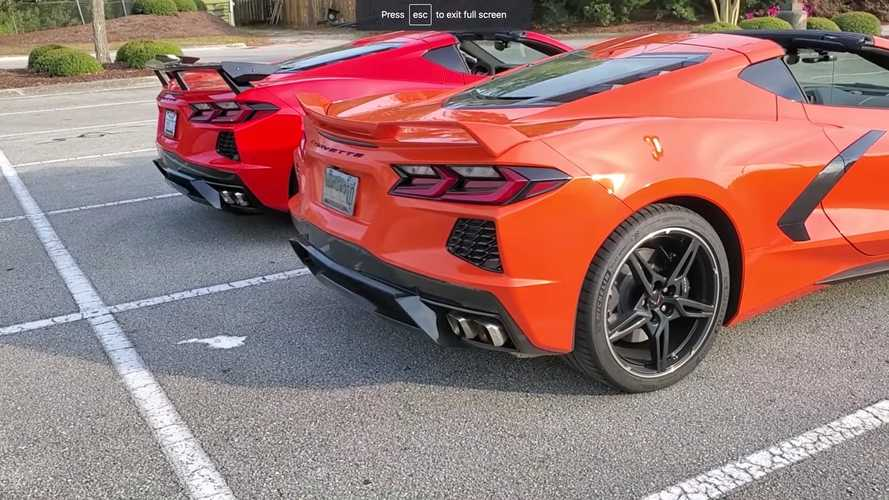 Chevrolet Corvette C8 Wing Comparison Video