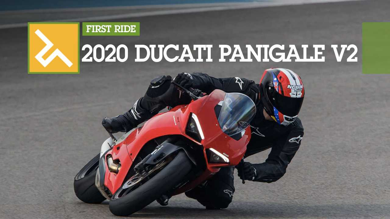 2020 Ducati Panigale V2 First Rider Main