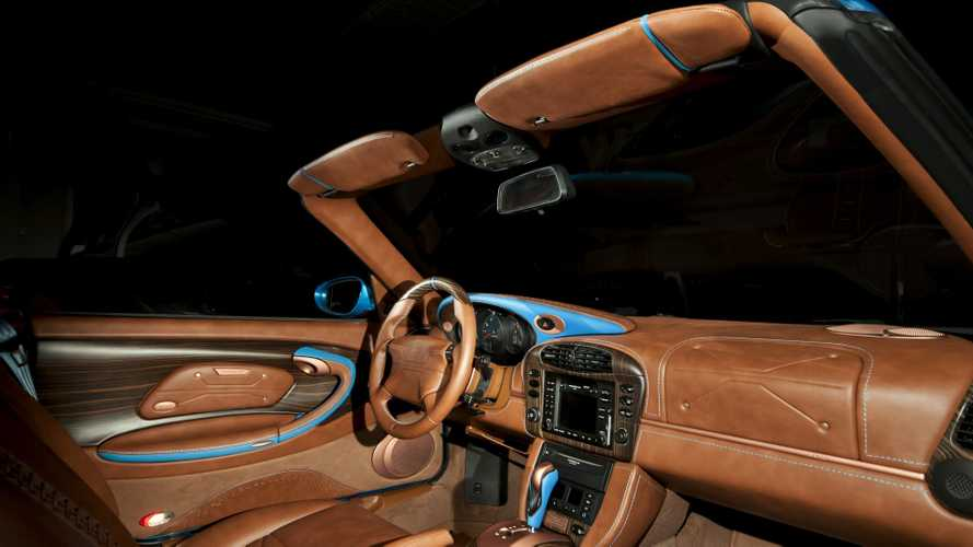 Porsche 911 Cabriolet (996) By Vilner Is Full Of Leather And Wood
