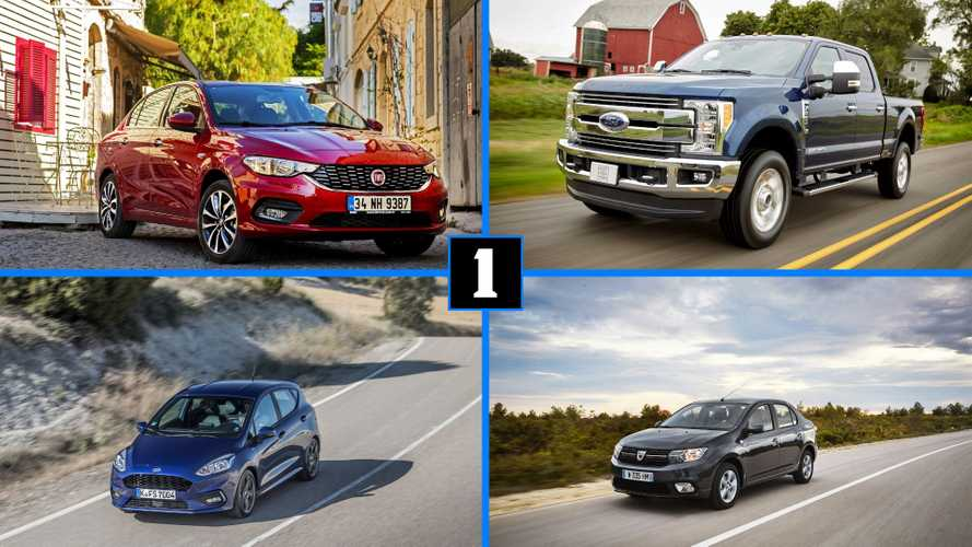 Los coches más vendidos en 10 países durante 2019