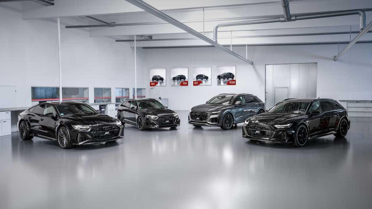 Abt RS 4 Avant, RS 6 Avant, RS 7 Sportback und RS Q8 2020