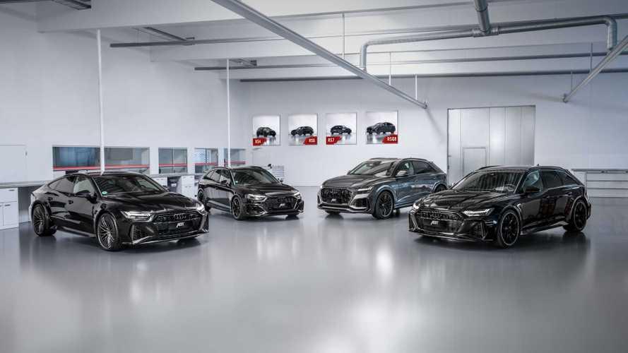 Audi RS 6, RS 7, RS Q8 und RS 4 (2020): Deftige Leistungssteigerung von Abt