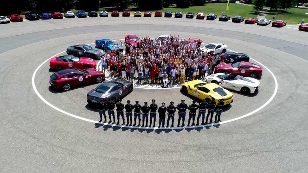 Ferrari-adomány