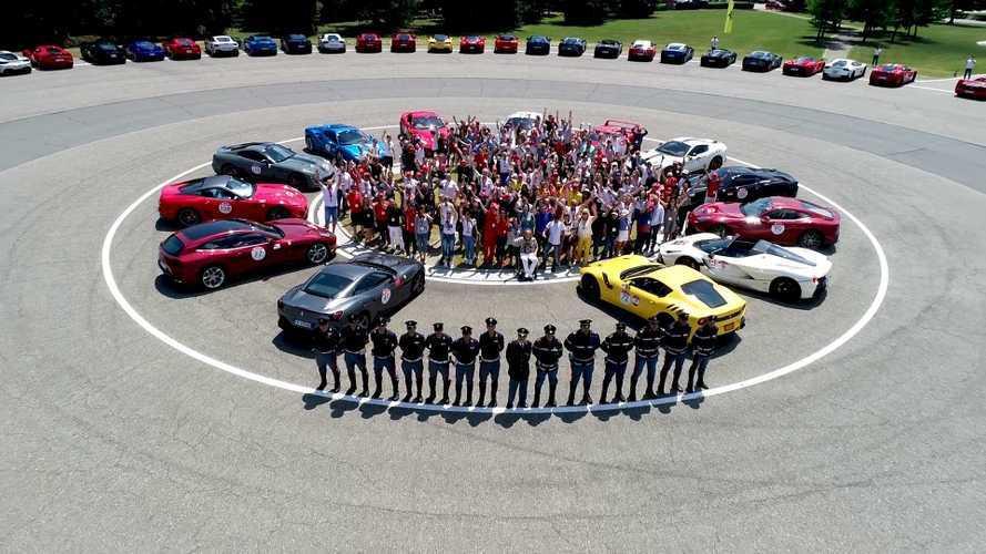 A Ferrari és annak ügyfelei egymillió eurót adományoztak a koronavírus elleni harcra