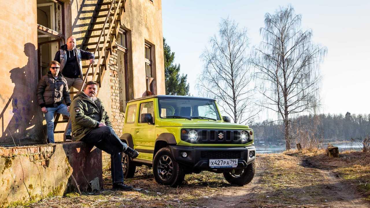 Suzuki Jimny: редакционный тест
