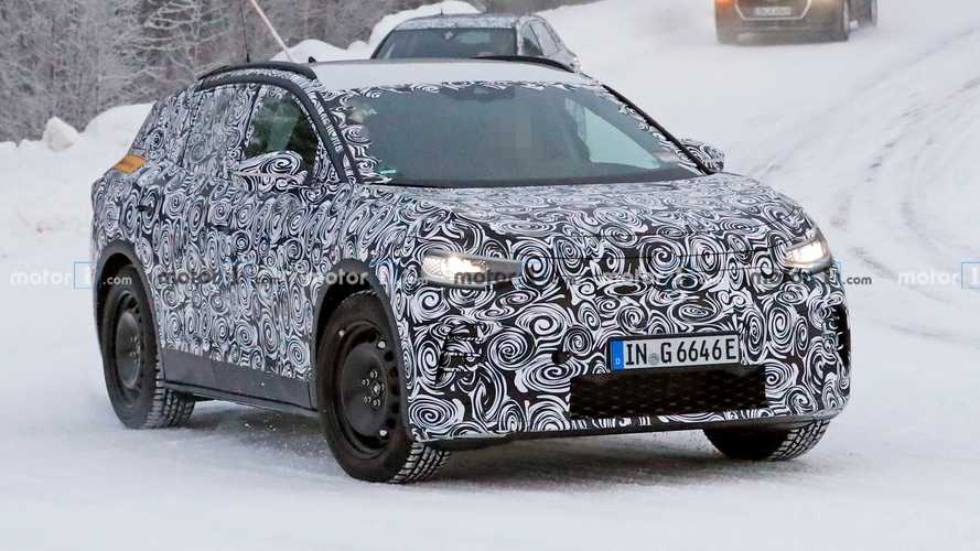 Audi Q4 e-tron mule caught testing disguised as VW ID.4