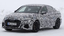 Audi RS3 Berline et RS3 Sportback photos espions