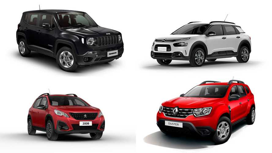 Lista: Os 10 SUVs automáticos mais baratos do Brasil