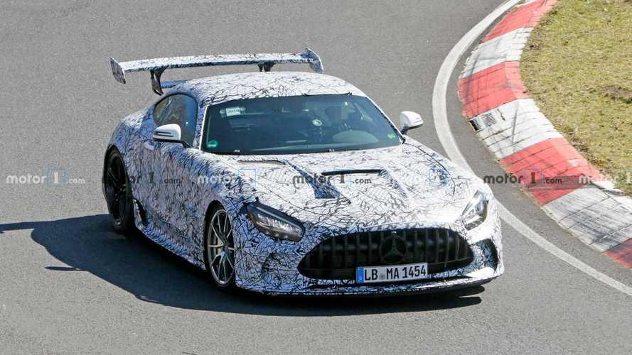 El Mercedes-AMG GT Black Series podría tener 720 CV, según los rumores