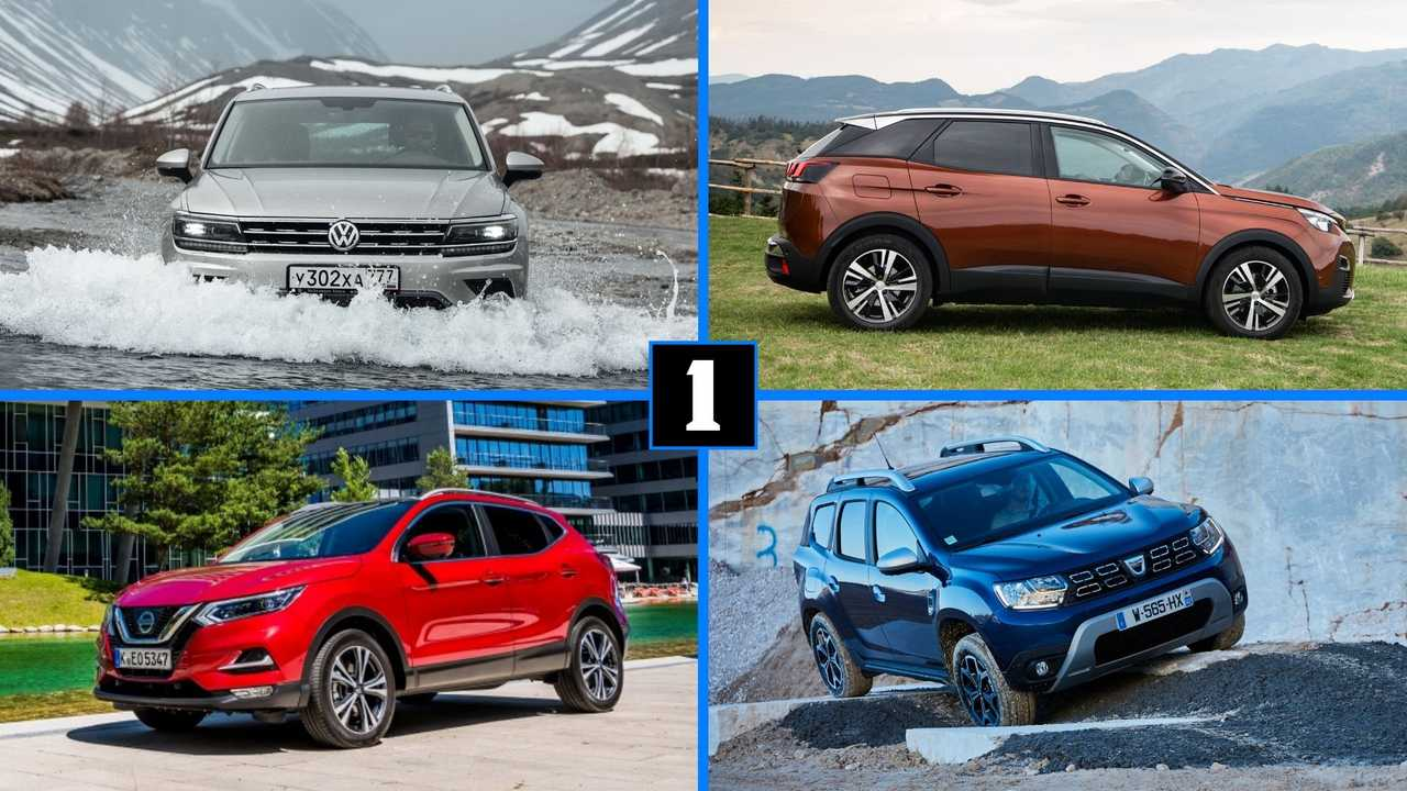 7 best selling SUV 2019