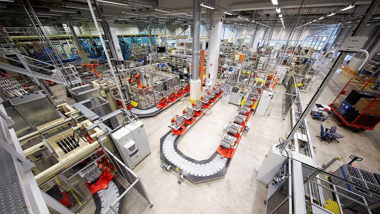 Volvo fabbrica