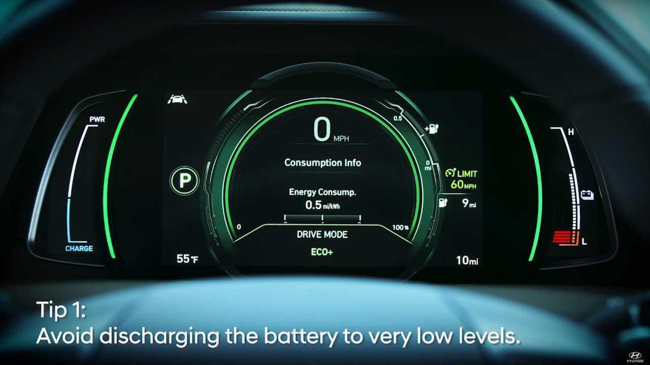 Hyundai Advises Us On How To Maximize EV Battery Life