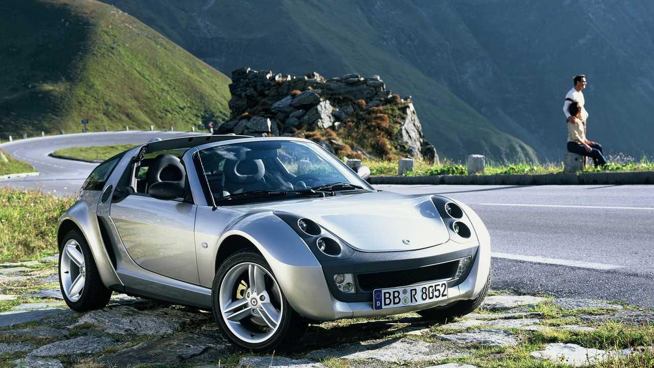 smart roadster (abril de 2003 - noviembre de 2005)